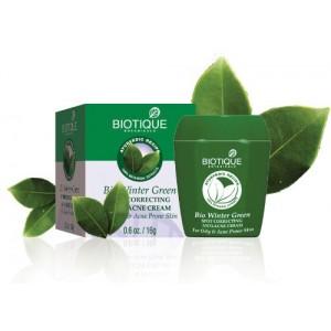 "Bio Winter Green Spot Correcting Anti-Acne Cream ""Biotique"" 16г"