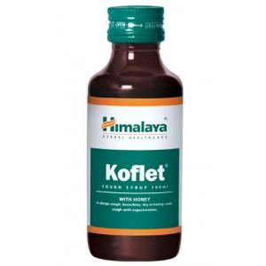 Koflet (Кофлет) сироп от кашля Himalaya (Хималая) 100 мл.