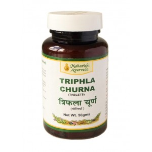 "Triphla Churna tablets (Трифала Чурна) ""Maharishi Ayurveda"" 50 таб."