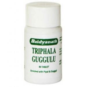 """Triphala Guggulu (Трифала Гуггул) """"Baidyanath"""" (Байдьянатх) 80 таб."""