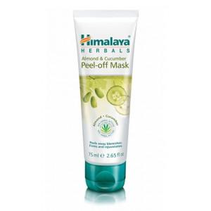 Almond & Cucumber peel-off mask (Отшелушивающая маска для лица с миндалем и огурцом) Himalaya Herbals (Хималая Хербалс) 75 мл.