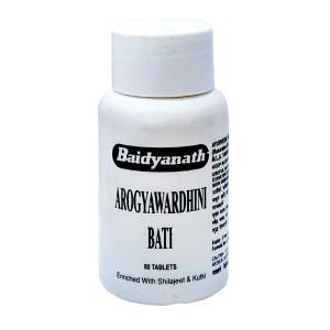 Arogyawardhini Bati (Арогьявардхини Бати) Baidyanath (Байдьянатх) 80 таб.