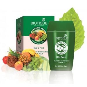 """Bio Fruit (Био Фрукты) Отбеливающая, антипигментная маска """"Biotique"""""""