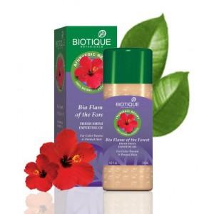 """Bio Flame of the forest (Био Лесной Огонь) Масло для окрашенных волос и после химической завивки """"Biotique"""""""