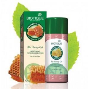 """Bio Honey (Био Мед) Увлажняющий гель для глубокой очистки лица """"Biotique"""""""