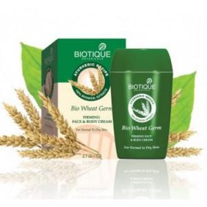 """Bio Wheat (Био Зародыши Пшеницы) Укрепляющий, питательный крем для лица и тела """"Biotique"""""""