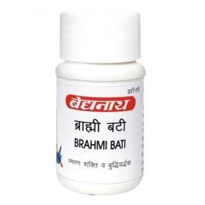 Brahmi Bati (Брами Бати) Baidyanath (Байдьянатх) 80 таб.