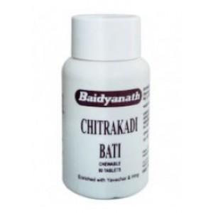 Chitrakadi Bati (Читракади Бати) Baidyanath (Баидьянатх) 80 таб.