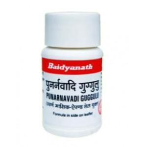 Punarnavadi Guggulu (Пунарнавади Гуггул) Baidyanath (Бадьянатх) 80 таб.