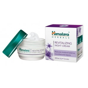 Revitalizing Night Cream (Восстанавливающий ночной крем для лица) Himalaya Herbals (Хималая Хербалс) 50 мл.