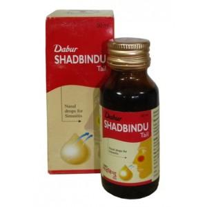 Shadbindu Tail (Шатбинду) капли в нос Dabur (Дабур) 50 мл.