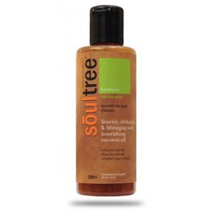 """Шампунь для восстановления волос """"Soultree"""" с Лакричником, Шикакай, Кокосовым маслом"""