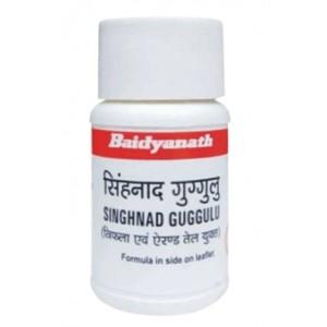 Singhnad Guggulu (Сингхнад Гуггул) Baidyanath (Бадьянатх) 80 таб.