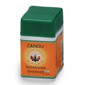 Sudarshan Ghanvati (Сударшан Гханвати) Zandu (Занду) 40 таб.